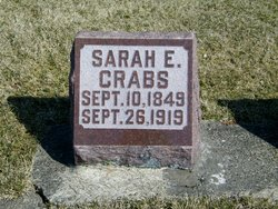 Sarah E. <i>Laflin</i> Crabs