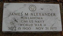 James M Alexander