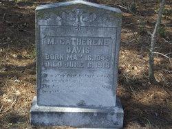 M Catherine Davis