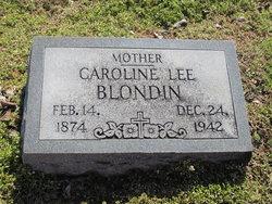 Caroline <i>Lee</i> Blondin