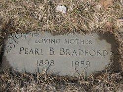 Pearl Beaulah <i>Elmore</i> Bradford