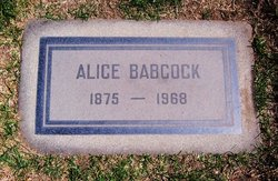 Alice Belle <i>Youngblood</i> Babcock