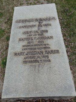 Rachel <i>Jordan</i> Baker