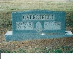 Walter H Overstreet
