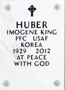Imogene <i>King</i> Huber