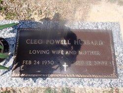 Cleo <i>Powell</i> Hubbard