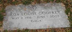 Ada Louise Gaga <i>Peters</i> Godfrey