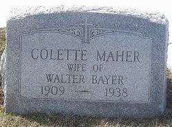 Colette <i>Maher</i> Bayer