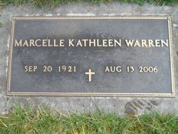 Marcelle Kathleen Marcie <i>Herbster</i> Warren