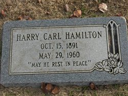 Harry Carl Hamilton
