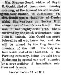 Frances Mary <i>Akin</i> Gould