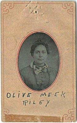 Olive Louise <i>Meek</i> Riley
