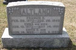 Emma Elizabeth <i>Baublitz</i> Altland