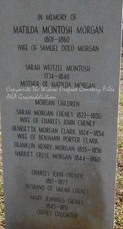 Matilda Grant Rose <i>Mackintosh</i> Morgan