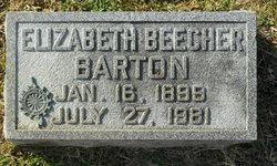 Elizabeth <i>Beecher</i> Barton