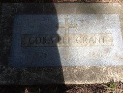 Cora Lee <i>Hopkins</i> Grant