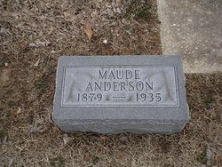 Maude <i>Butler</i> Anderson
