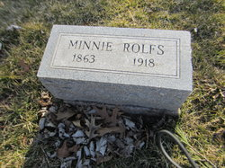 Wilhelmina Minnie Rolfs