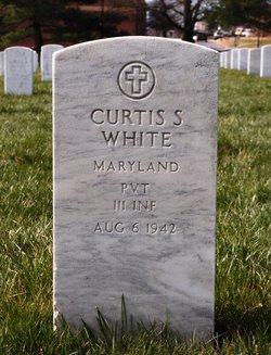 Pvt Curtis S White