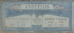 Homer LaSalle Anderson