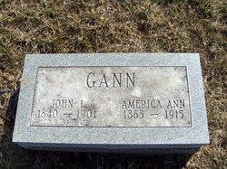 America Ann <i>McGrew</i> Gann