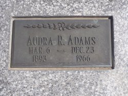 Audra Ruth <i>Porter</i> Adams