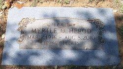 Myrtle Opal <i>Alexander</i> Herod