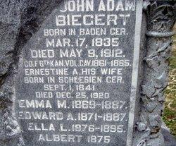 John Adam Adam Biegert