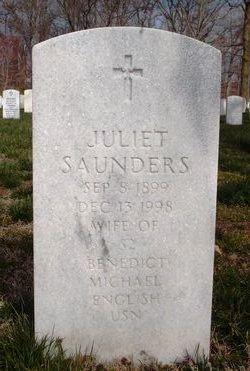 Juliet Saunders English