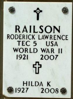 Hilda Katherine Railson