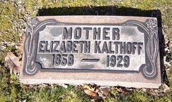 Elizabeth K Kalthoff