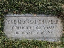 Ione Lydia <i>MacNeal</i> Chambers