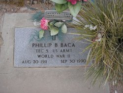 Phillip B Baca