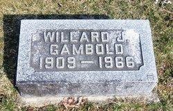 Willard J Gambold