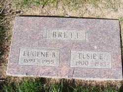 Elsie Evelyn <i>Holderness</i> Brett