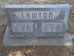 Nancy Susan Fannie <i>Davis</i> Lawton