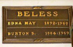 Edna May <i>Jeffery</i> Beless