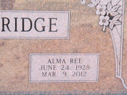 Alma Ree <i>Bennett</i> Eskridge