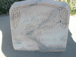 Jo Ann Zeider