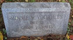 Minnie <i>Worthington</i> Voorhees