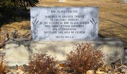 Bow Island Cemetery