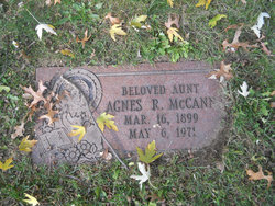 Agnes R McCann