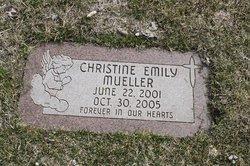 Christine Emily Mueller