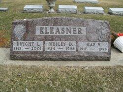 Mae Virginia <i>Crumrine</i> Kleasner