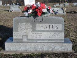 Dorothy Marilyn <i>Bovard</i> Yates