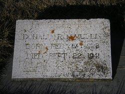 Donald R McMullin