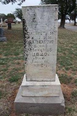 Elizabeth M. <i>Harper</i> Weatherford