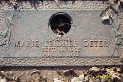 Mary Helen <i>Leidner</i> Deter