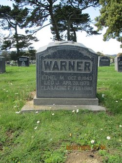Claracine Frances <i>Oneil</i> Warner