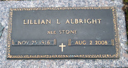 Lillian Lee <i>Stone</i> Albright